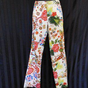 BYBLOS BLU GROOVY FLORAL PANTS